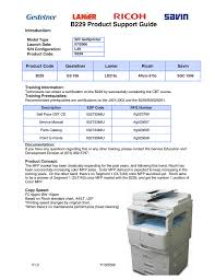 Ricoh Aficio Sgc 1506 Gs Service Manual Manualzz Com