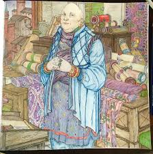 Game Of Thrones Coloring Book Finished Pages Inviting Just Varys