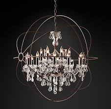 restoration hardware chandeliers