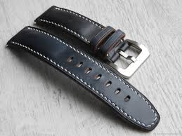 watch belts handmade livemaster handmade horse leather watchband 24mm genuine leather