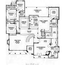 5000x5000 administrative building floor plan design concept free house