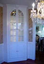 Before And After Dining Room Makeover Corner China Cabinets And - Dining room corner hutch
