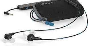 bose in ear. bose quietcomfort 20 [ios remote] (in-ear, black) in ear