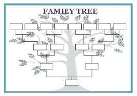 Blank Family Tree Template Free Premium Template 12 Premium Family Tree Template For Free Free Premium Templates