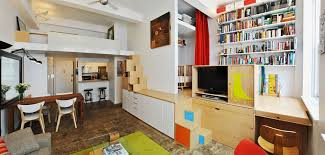 Smart Ideas Storage Ideas For Small Apartment Contemporary Studio Apartments