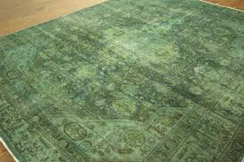 cozy blue green area rug and unique hand knotted overdyed oriental wool fl striped as your interior decorcozy rugs home decor 8 10 olive solid sage ikea