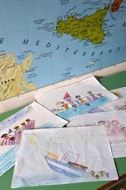 Lampedusa Childrens Drawings Tell Story Of Migrant Shipwreck Huffpost