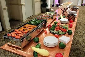 garden grill station versailleerers venue ballroom catering food