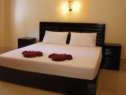 double bed at Ao Thong Beach khao lak bungalows