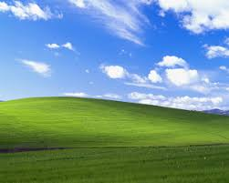 background green and blue bliss image wikipedia