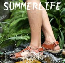 <b>Soft Sandals Men</b> Summer Beach <b>Sandals</b> Moccasins <b>Classic Men</b> ...