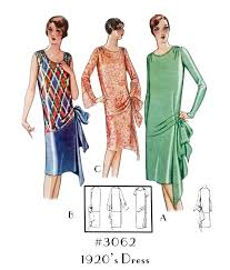 1920 Dress Patterns Unique Inspiration