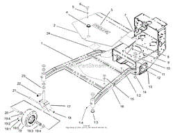 toro proline 44 wiring diagram toro discover your wiring diagram toro professional 30321 midsize proline tbar gear 17 hp w 44
