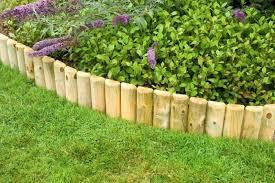 wood landscaping borders creative garden design