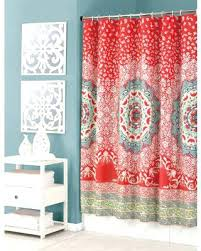 c colored shower curtain sumptuous c colored shower curtain and teal interior salmon colored shower curtains
