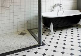 ... Classy Idea Black And White Floor Tile 15 Bathroom White Flooring Wood  Effect Tile Laminate Oak ... Ideas