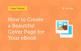 create a stunning cover page for your content marketing ebook