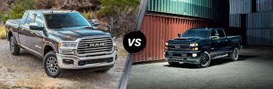 2019 Ram 2500 Vs 2019 Chevy Silverado 2500hd