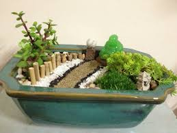 diy mini zen garden contained