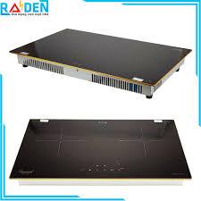 Bếp âm - bếp điện từ đôi Canaval CA-919 công nghệ Inverter tiết kiệm điện -  Gia Dụng Raiden