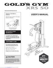 Golds Gym Xrs 50 User Manual Pdf Download