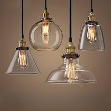 vintage pendant lights retro glass hanglamp russia loft lamparas within lamp shades design 17