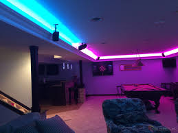 games room lighting. Man Cave Game Room LED Lighting Contemporary-family-and-games-room Games Houzz