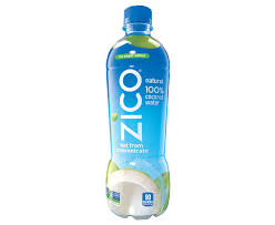 zico natural 100 coconut water 16 9 fl oz nutritional info