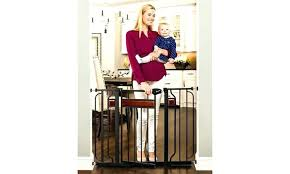 Regalo Extra Tall Baby Gate Stair 27 54 With Swing Door Easy Step ...