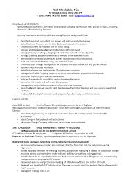 Import Export Manager Resume Samples Free Sample Be Solagenic