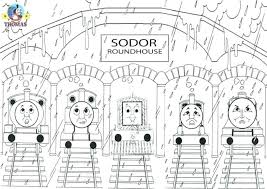thomas the tank engine coloring page printable coloring pages bill coloring page the engine printable coloring