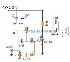 lm386 audio lifier circuit lm386 circuits lm386 circuits the post discusses a simple single mosfet cl a power
