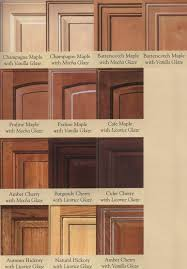 maple wood cabinets. Exellent Cabinets Wood Door Glazing Examples  Cabinet Doors Depot Maple Kitchen Cabinets  Colors On Wood Cabinets