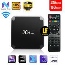AA New Android 9.0 TV Box 4K X96 Mini 2G+16G Tv Box 30fps RAM 2G ROM 16G
