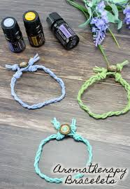 carry your favorite scents everywhere with these gorgeous braided leather essential oil diffuser bracelets easy
