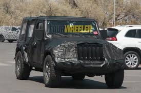 2018 jeep lj.  2018 2018 jeep wrangler jl inches closer to production for jeep lj