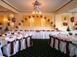 wedding banquet hall decorations