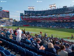 Tennessee Titans Stadium Virtual Seating Chart Nissan Stadium Section 109 Seat Views Seatgeek
