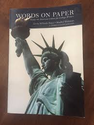words on paper essays on american culture for college writers words on paper essays on american culture for college writers 9781323258484 com books