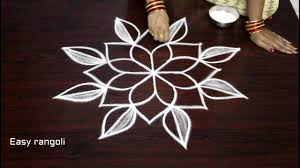 latest free hand flower kolam designs muggulu designs with out dots simple rangoli designs