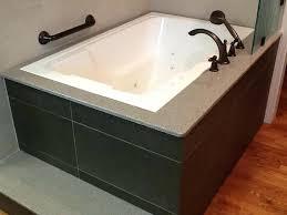 drop in soaking tub square deep alcove