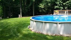 semi inground pool kits diy canada pools