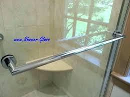 shower door bars shower door towel bar over shower door towel bars upgrade your on sliding shower door bars double towel