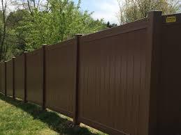 brown vinyl fence. IMG_1184 Brown Vinyl Fence V