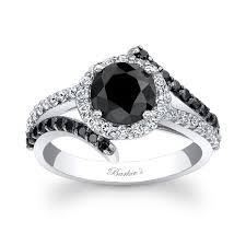 barkev s black diamond engagement ring bc 7857lbkw