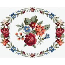 Cross Stitch Free Patterns Impressive Free Pattern Dmc Flower Garland Cross Stitch 48 Hobbycraft