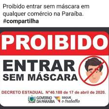 ITC Vertebral João Pessoa - Vai sair de casa? Use sua máscara. Em quase  todo o Brasil já é obrigatório, e aqui em João Pessoa não poderia ser  diferente. Vamos fazer nossa