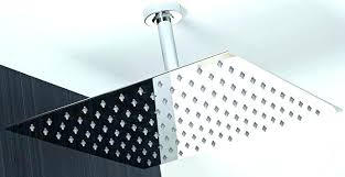 rain head shower kit showers best rain head shower brand inch solid square ultra thin rain rain head shower kit