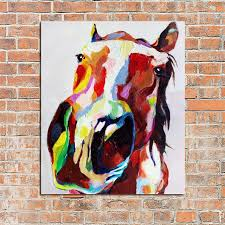 100 handpainted oil painting horse paintings on canvas modern abstract art best gift wall art