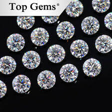 Excellent Cut Round <b>Loose</b> Synthetic Moissanites China for sale ...